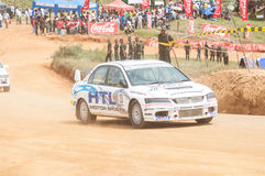 Racing  car in srilanka Stock Image