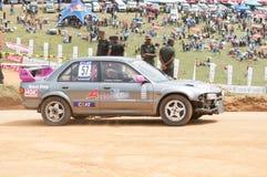Racing  car in srilanka Stock Image