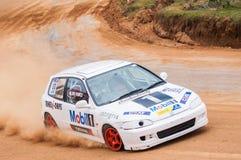 Racing  car in srilanka Stock Photo