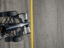 Racing Car with standing at line Stock Photography