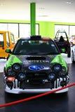 Racing car Subaru Impreza Royalty Free Stock Images