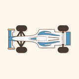 Racing car theme elements vector,eps Stock Photo