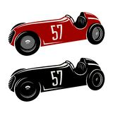 Racing car 004 Royalty Free Stock Images