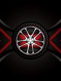Racing car wheel Royalty Free Stock Image