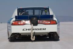 Racing car during the World of Speed Stock Photos