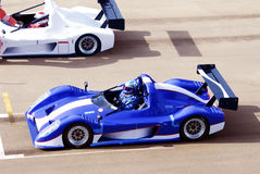 Racing cars stock photos