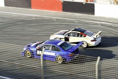 Racing cars Stock Image