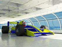 Racing cars Stock Images