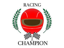 Racing Champion Royalty Free Stock Photography