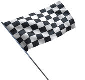 Racing Chequered Flag Stock Photos