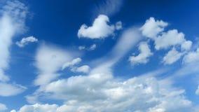 Racing clouds stock video
