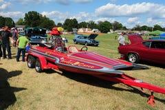 Racing Craft Voodoo Canoe Speedboat. Royalty Free Stock Image