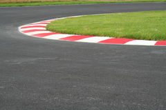 Racing curbs Royalty Free Stock Photos
