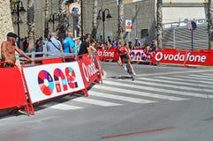 Racing Cyclist At La Vuelta España Stock Image