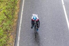 Racing cyclists at the race Rund um den Finanzplatz Frankfurt Stock Photography