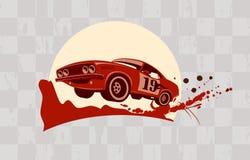 Racing design template. Stock Image
