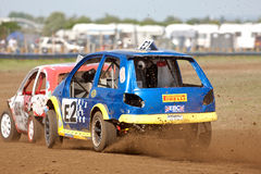 Racing on dirt Stock Photo