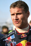 Racing driver David Coulthard Royalty Free Stock Photo