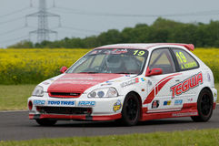 Racing Driver Stock Photo