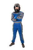 Racing driver Royalty Free Stock Images
