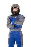 Racing driver Stock Image