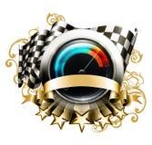 Racing emblem Royalty Free Stock Images