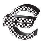 Racing euro Stock Image