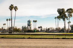 Racing field at Alameda County Fairground Royalty Free Stock Photo