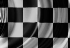 Racing flag Stock Photos
