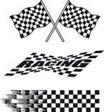 Racing flag Stock Photography