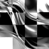 Racing flag Royalty Free Stock Photos