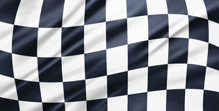 Racing flag background Stock Image