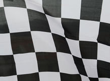 Racing flag Stock Photo