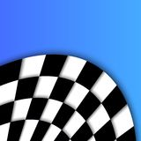 Racing Flag Vector Background Design Royalty Free Stock Photography