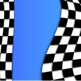 Racing Flag Vector Background Design Stock Photography