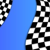 Racing Flag Vector Background Design Royalty Free Stock Images
