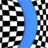 Racing Flag Vector Background Design Stock Photos