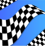 Racing Flag Vector Background Design Royalty Free Stock Image