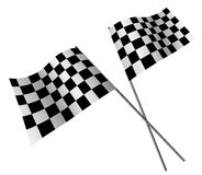 Racing flags Stock Photos
