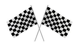 Racing flags Stock Photo