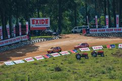Racing foxhill 2012 Royalty Free Stock Photos