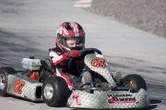 Racing Go Kart Stock Photos