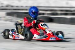 Racing Go Kart royalty free stock photos