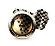 Racing icon Stock Photos
