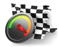 Racing icon Royalty Free Stock Photos