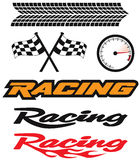 Racing Icons royalty free illustration