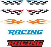 Racing Icons Royalty Free Stock Image