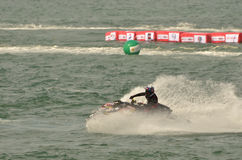 Racing jet skis Royalty Free Stock Photo