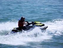 Racing of jet skis Stock Photos