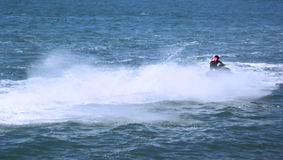Racing of jet skis Royalty Free Stock Photography